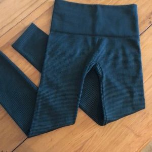 French Laundry textured lined leggings 1X